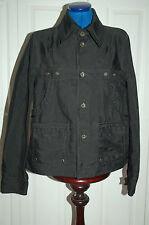 ❄️NEW Ladies DIESEL Sz S Black Box Style Jacket Coat Brass Diesel buttons Spring
