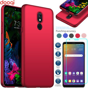 For LG Stylo 5 4 Plus/G8 X V50S ThinQ Ultra Slim Shockproof Case+Tempered Glass