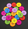 100pcs Button Large Mixed Wooden Buttons Cloths Decoration Sewing Crafts DIY