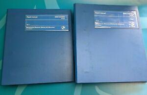 BMW 320/323i 6-cyl, original repair manual. Vol 1 & 2. RARE, in great condition.