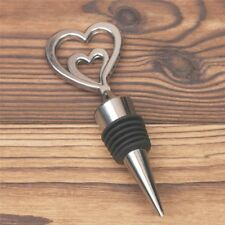 Champagne Wine Bottle Elegant Heart Shaped Stopper Valentine's Wedding Gifts