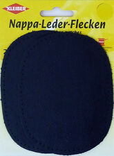 Kleiber Nappa Leather Patches - Pack of 2 - Sew On - Elbow or Knee - 4 Colours