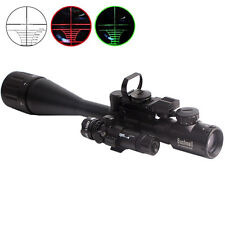 6-24X50 Rifle Scope Hunting Tactical with Holographic Sight Lens & Green Laser