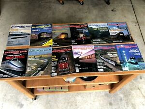 Passenger Train Journal 12 issues from 1995 Complete Year