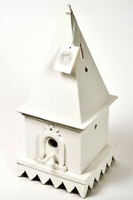 Decorative wooden bird house, Made in the Philippines Vintage Nwt.