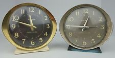 (2) Vtg Westclox Big Ben Wind Up Alarm Clocks 58055 & 53647 Busted Not Working