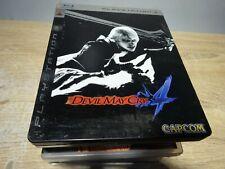 Devil May Cry 4 Steelbook - Playstation 3(scruffy box)  Manual included FREEPOST