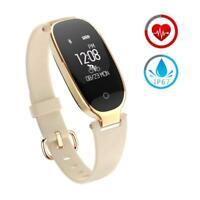 Montre Intelligente Femme Bluetooth Smartwatch Moniteur de sommeil