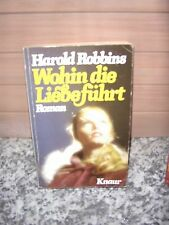 Where the love is, by Harold Robbins