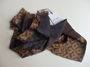 Paul Smith men's scarf. Multicoloured. Made in Italy.