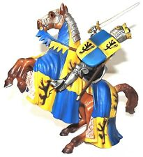 Schleich Prince on Reared Horse (Lion) #70009 Rare Retired 2013 World of Knights