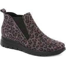 Fly Flot Chelsea Boot para Mujer Estampado De Leopardo