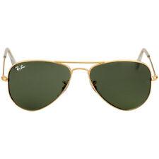 Ray-Ban Aviator Small Metal Frame Green Lens Unisex Sunglasses RB3044