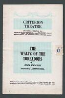 Waltz of the Toreadors programme London 1957, Hugh Griffiths,Peter Hall  v113