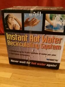 NIB Watts model 500800 instant hot water circulator