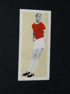 FOOTBALL FLEETWAY TIGER CARD 1963 #28 DAVID HERD MANCHESTER UNITED RED DEVILS UK