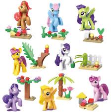 8 PCS My Little Pony Minifigures Building Blocks Toys Action Figure Kids Gifts