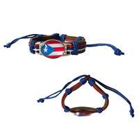 Pack of 12pcs Stylish Pride Fashion Leather Adjustable Bracelet