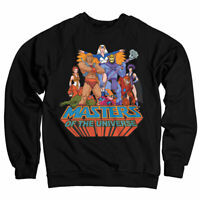 Officially Licensed Masters Of The Universe Sweatshirt S-XXL Sizes