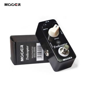 Mooer Trelicopter Classic Optical Tremolo Guitar Bass Effects Pedal True Bypass