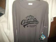 Columbia Sportswear Thermal Gray Omni Wick Crew 11 Sz. 3X/3Tf / New With Tags