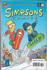 SIMPSONS COMICS #34 (VF) MARGE, LISA, BART & HOMER SIMPSON