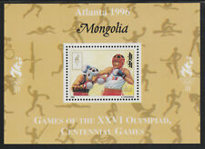 Mongolia 5560 - 1996 OLYMPICS - BOXING DELUXE SHEET unmounted mint