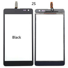 For Microsoft Nokia Lumia 535 Black Touch Screen Glass Lens Panel Digitizer 2S