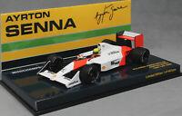 Minichamps McLaren Honda MP4/4B 1988 Ayrton Senna Test Car 547884399 1/43 Ltd402