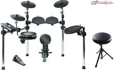 Alesis Command Kit 8 Pc Electronic Drum Set w/ Mesh Snare and Kick & Throne