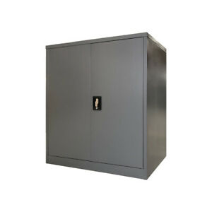 2 Door Steel Stationery Cupboard Metal Storage cabinet for home & Office Special