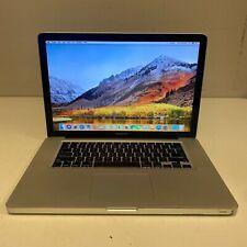 "Apple MacBook Pro 15"" Mid-2010 MC373LL/A Core i7 2.66GHz 4GB 500GB HDD HS"