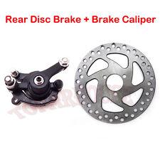 Rear Disc Brake Caliper Kit 140mm Rotors Electric Scooter Gas Mini Dirt Bike ATV