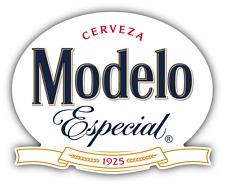 "Modelo Cerveza Especial Mexican Beer Drink Car Bumper Sticker Decal 5"" x 4''"