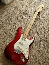 Fender Deluxe Roadhouse Stratocaster Candy Apple Red MIM