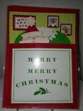 Santa Christmas greeting card, by Paper Magic Group unused with envelope Nip