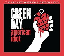 GREEN DAY THE ULTIMATE AMERICAN IDIOT CD + DVD ALBUM BOX SET (2015)