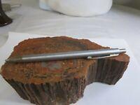 Vintage Sheaffer Brushed Steel Mechanical Clicker Pencil  RP21