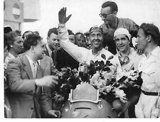 CIRCUIT DE GUEUX PHOTO GRAND  PRIX DE REIMS 1947 KAUTZ WINNER SUR MASERATI