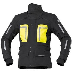 Held Uncover motorcycle jacket, black & fluoro, sizes L - XXL