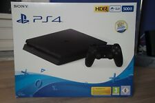 Sony Playstation 4 Slim 500Go Noir de jais + Manette + HDR, PS VR