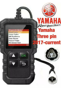 Yamaha OBD2 fault code scanner diagnostic tool 3 Pin 2017-onwards