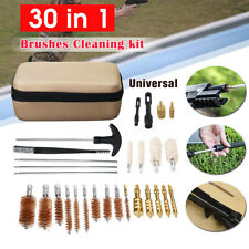 30 In 1 Universal Gun Brushes Cleaning Kit Set for Rifle for Pistol Clean