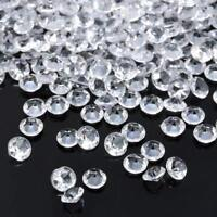 2000PCS 4.5mm Acrylic Confetti Wedding Decoration Scatter Table Crystal Diamond