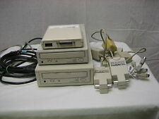 Vintage Computer Lot Sanyo 4X CD Rom HP Interface Asante