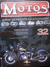 FASCICULE 32 MOTOS CLASSIQUES INDIAN CHIEF 1948  MOTORCYCLE MOTORRAD