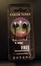 one COLOR TUNES Headphones  /Black color
