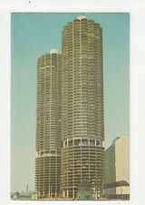Marina City Chicago USA Old Postcard 0988