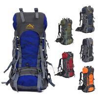 Unisex 60L Camping Travel Rucksack Waterproof Sport Outdoor Backpack Hiking Bag
