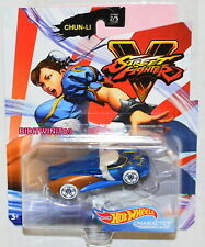 HOT WHEELS 2020 STREET FIGHTER MIX A CHUN-LI #2/5 CHARACTER CARS W+